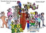 Yogi Bear and Jimmy Neutron Group Pic 2