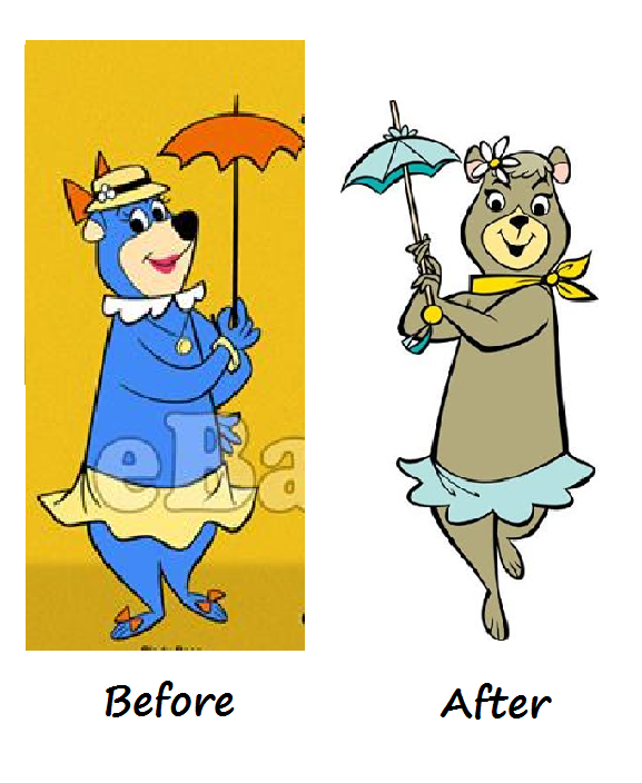 Cindy Bear Before And After By Clariceelizabeth On Deviantart