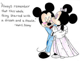 Always Remember That It All Started with a Mouse by ClariceElizabeth
