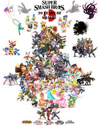 20 Years of Smash! [REMADE] by ClariceElizabeth