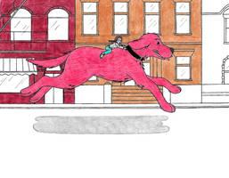 Clifford, the Big Red Dog by ClariceElizabeth