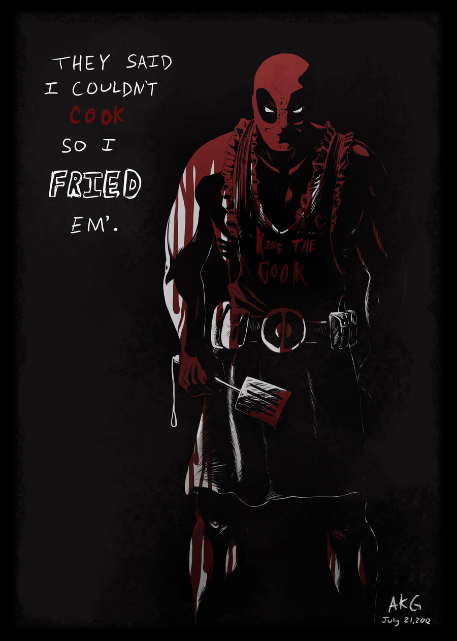 Deadpool Quickie by ADDICT-Se
