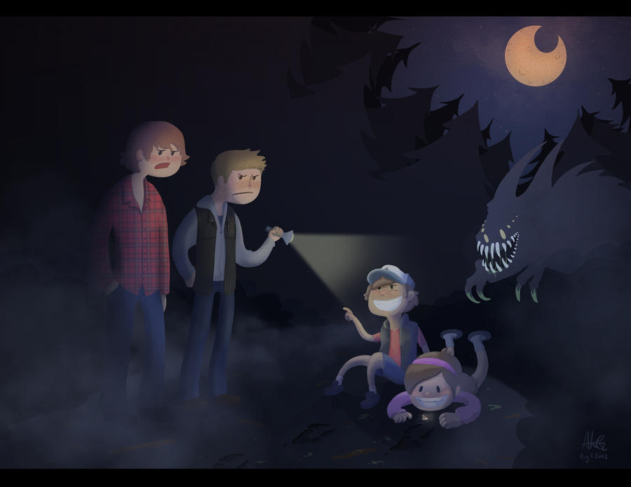 SPN and The Little Dipper by ADDICT-Se
