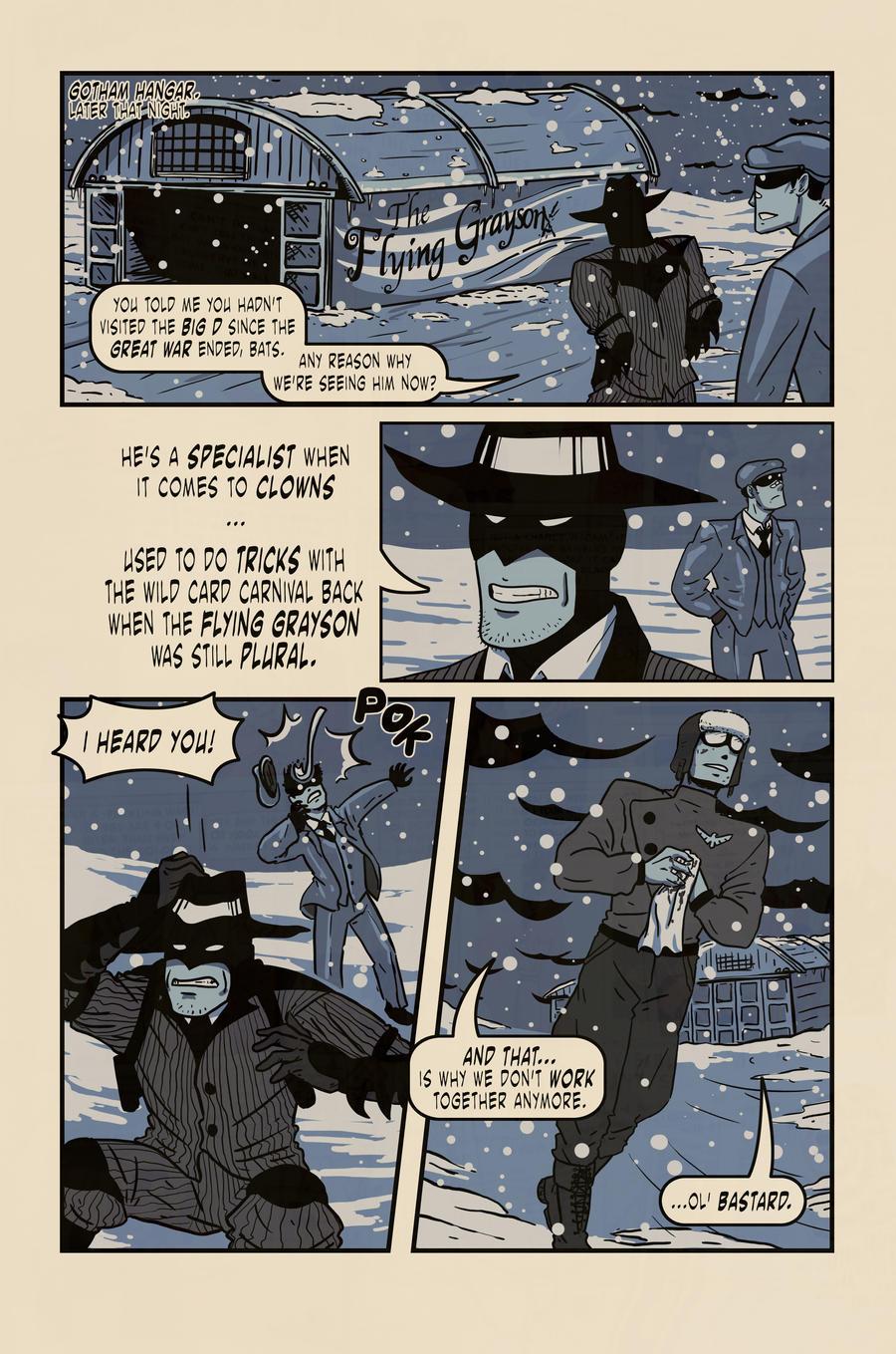 Batman: Old School 5 by ADDICT-Se