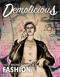 Faux Magazine Cover