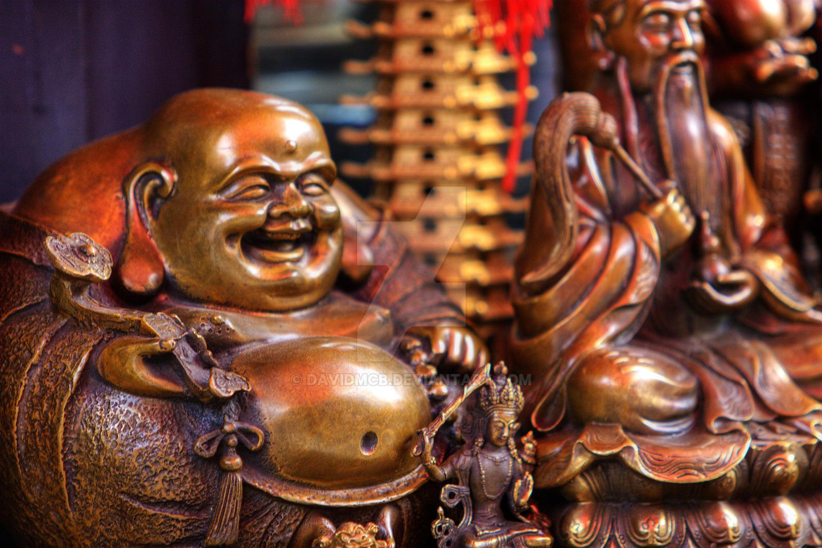 Maitreya Buddha by davidmcb