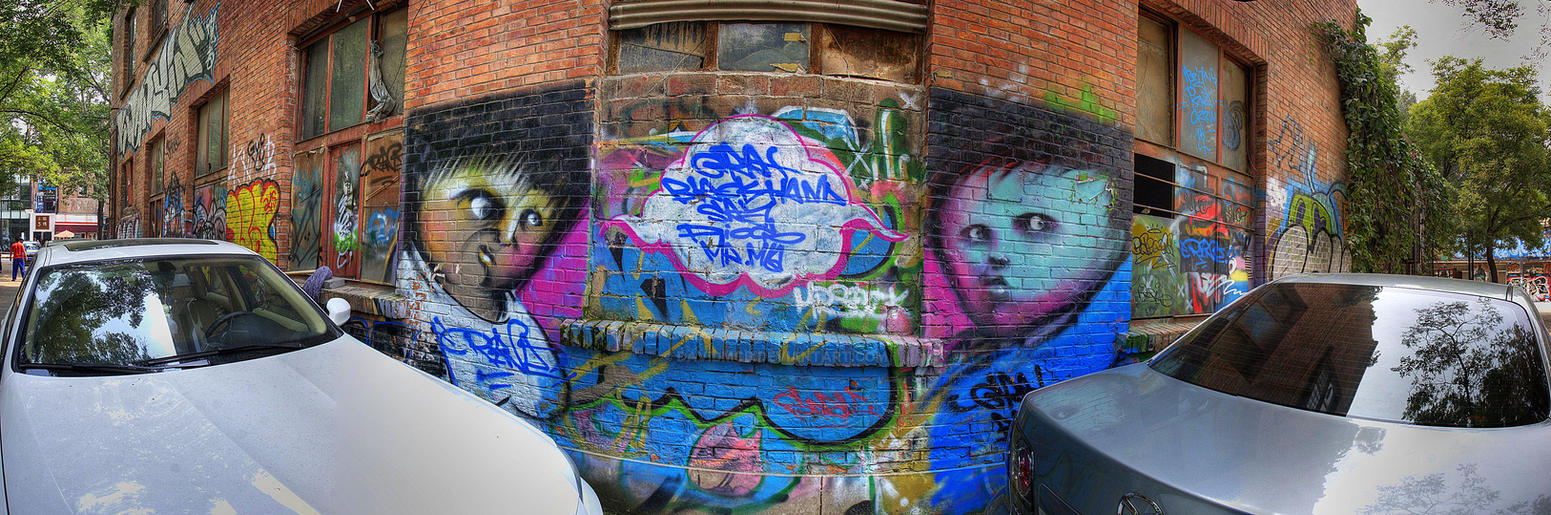 Noisy Alley 798 by davidmcb