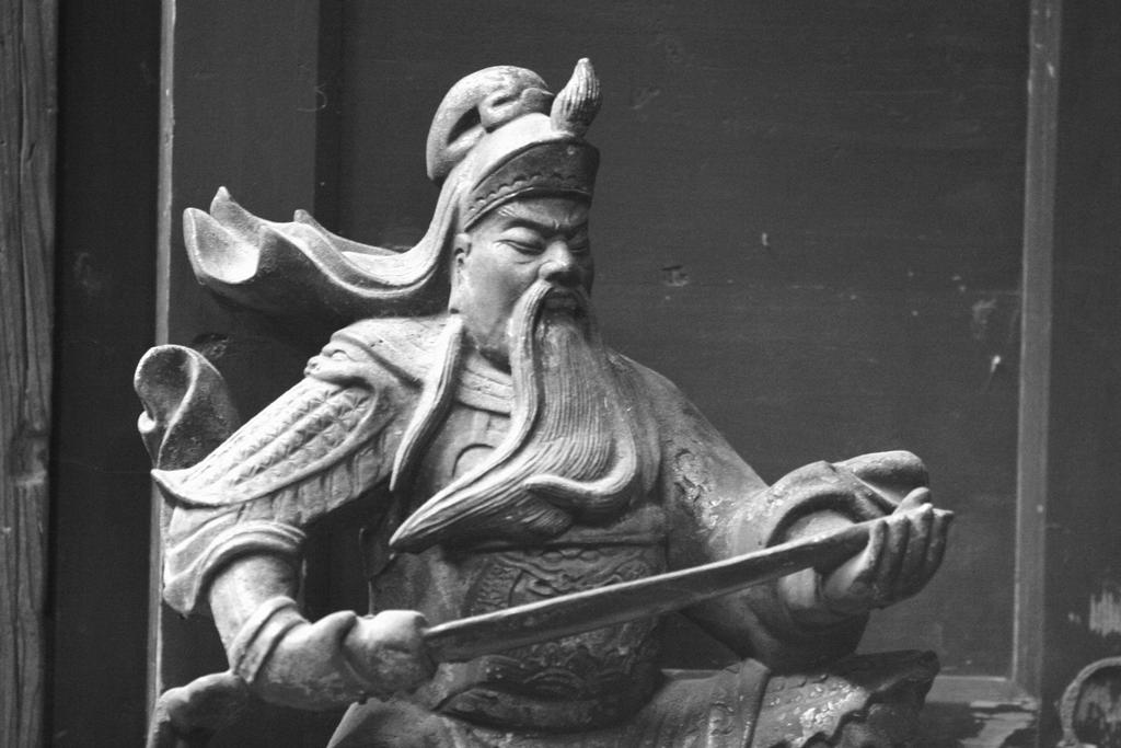 Guanyu when qinglongyanyuedao was being repaired by davidmcb