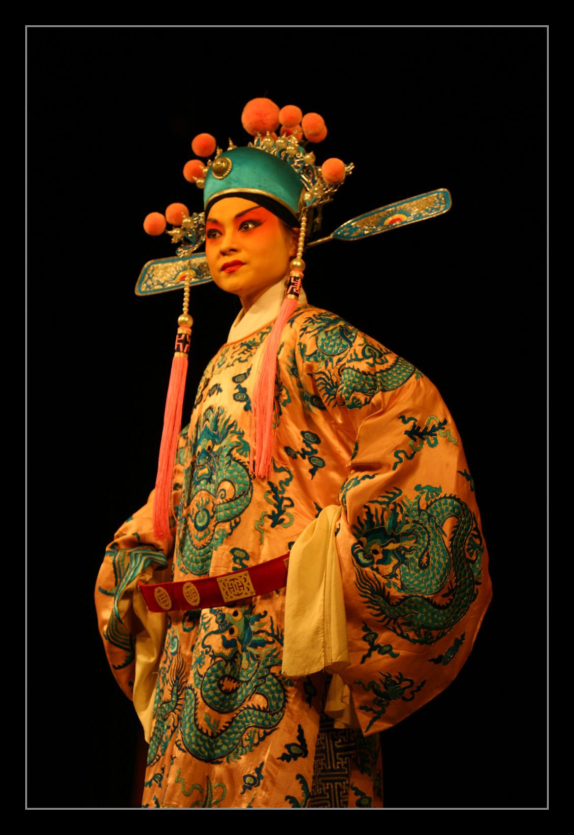 Sichuan Opera Chongqing China by davidmcb