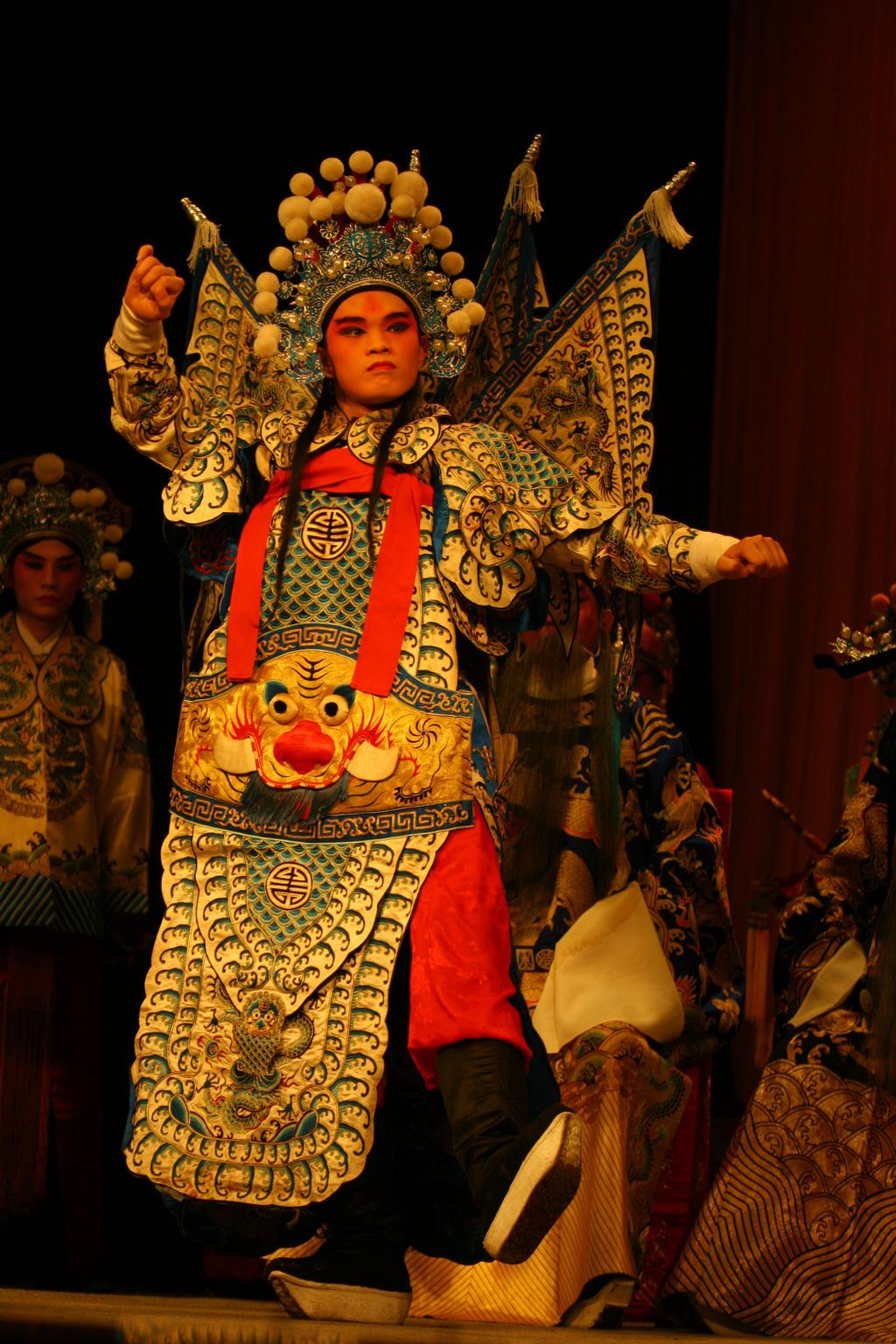 Sichuan Opera Qixing Gang by davidmcb