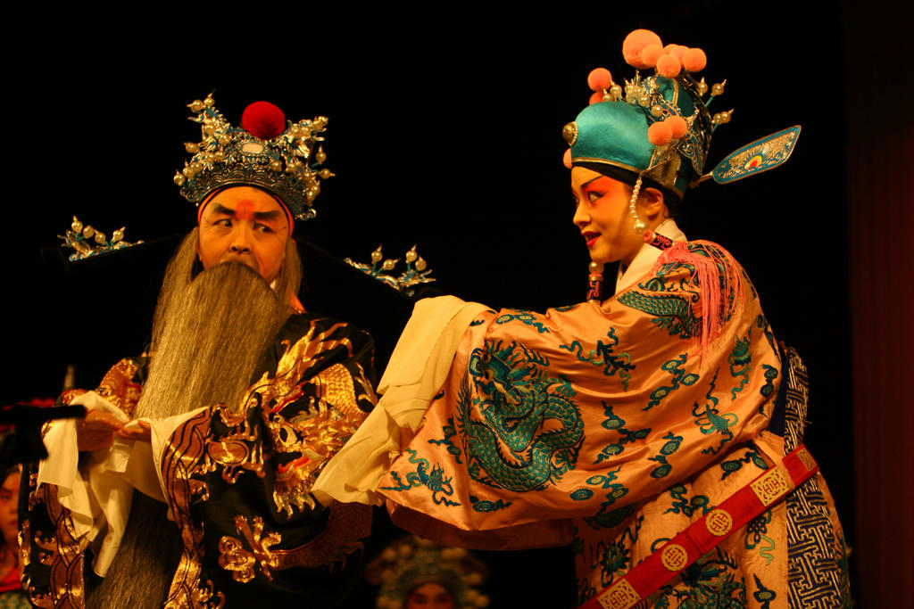Sichuan Opera Performance Chongqing China by davidmcb