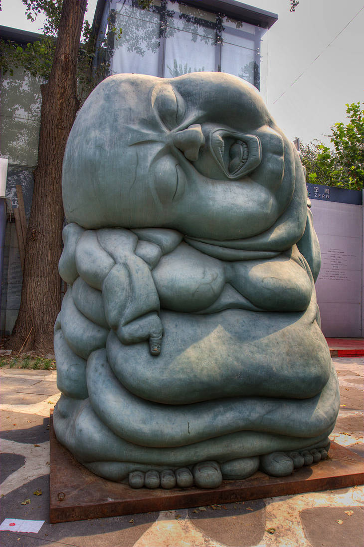 Beijing China 798 Art District By