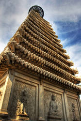 Biyunsi Azure Clouds Temple Fragrant Hills Beijing by davidmcb