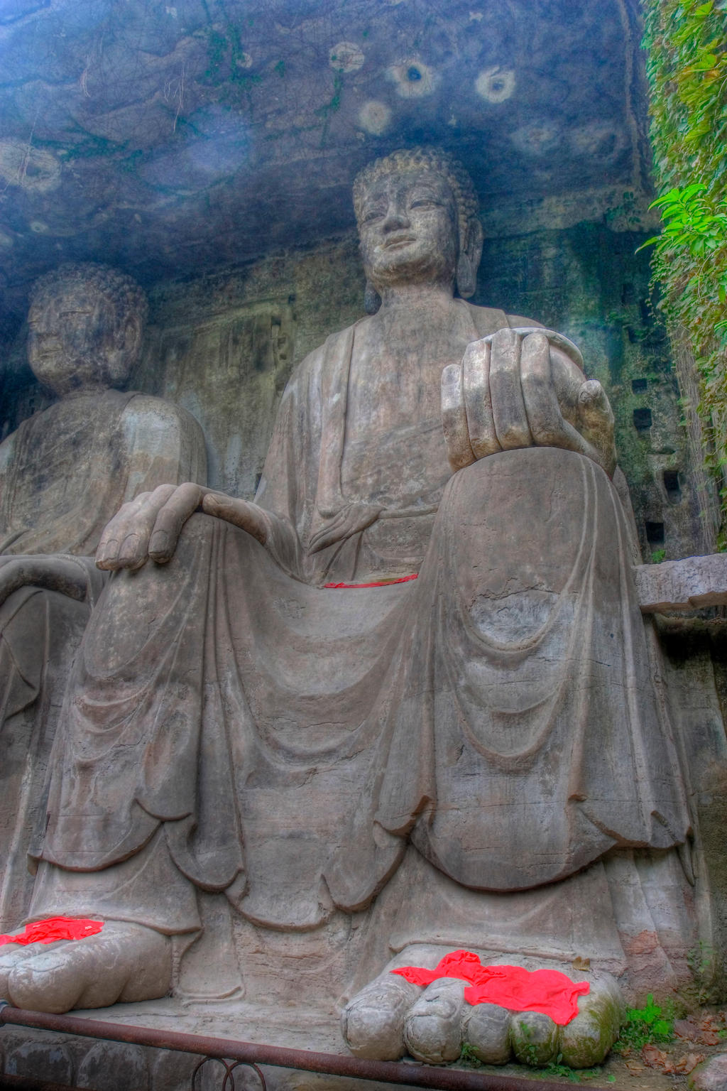 Dazu rock carvings chongqing china by davidmcb on deviantart