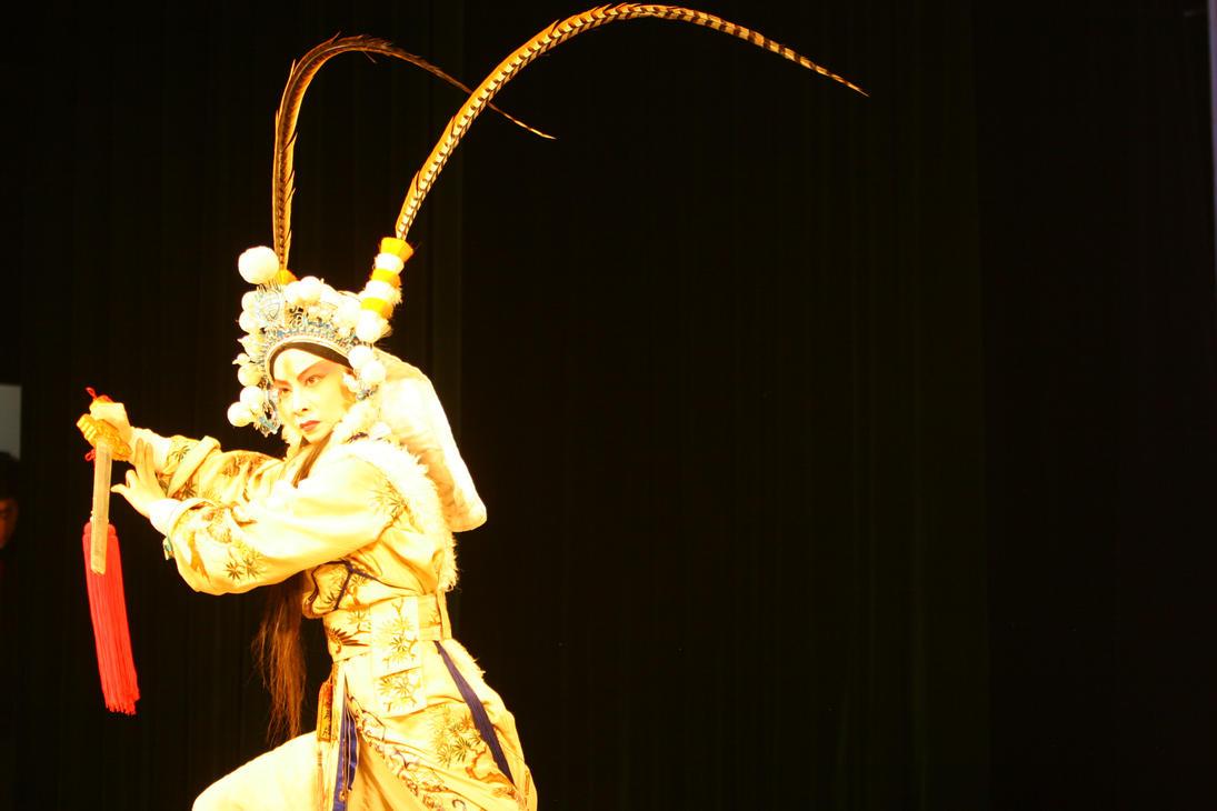 Sichuan Opera Chuanju Performers Chongqing China by davidmcb