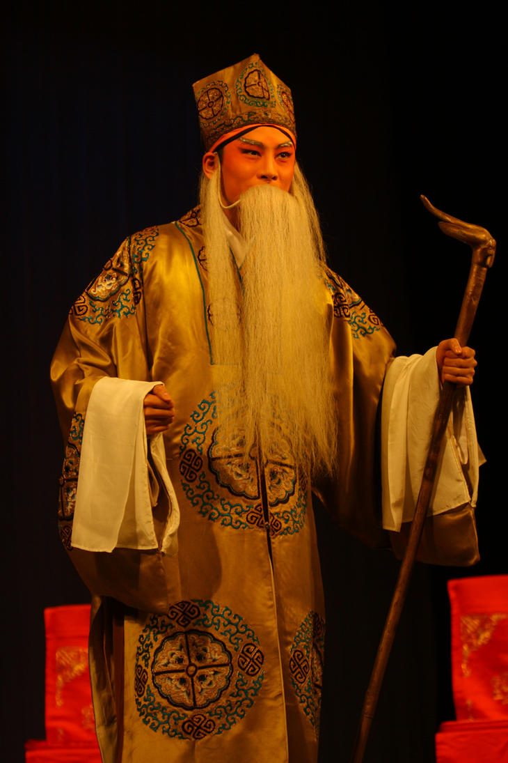 Sichuan Opera Performance Chongqing China by davidmcb