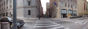 Forsyth St and Poplar St at the Healy Bldg