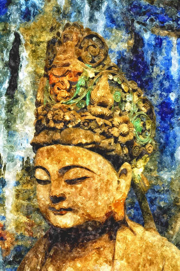 Dazu rock carvings chongqing china by davidmcb