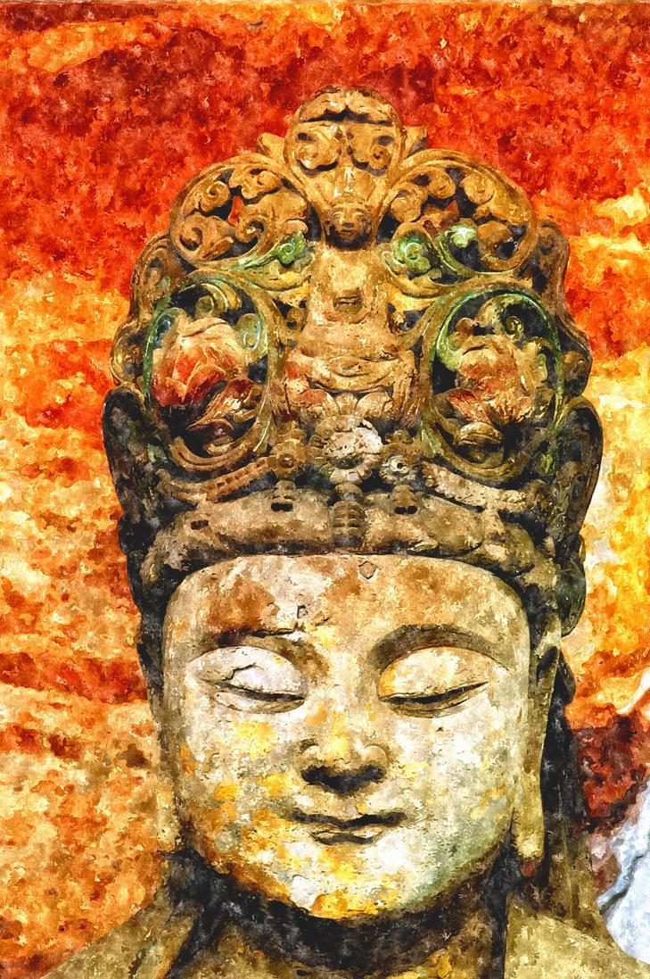 Buddhist rock carvings dazu chongqing china by davidmcb on