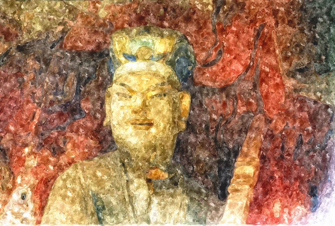 Buddhism dazu rock carvings chongqing china by davidmcb on