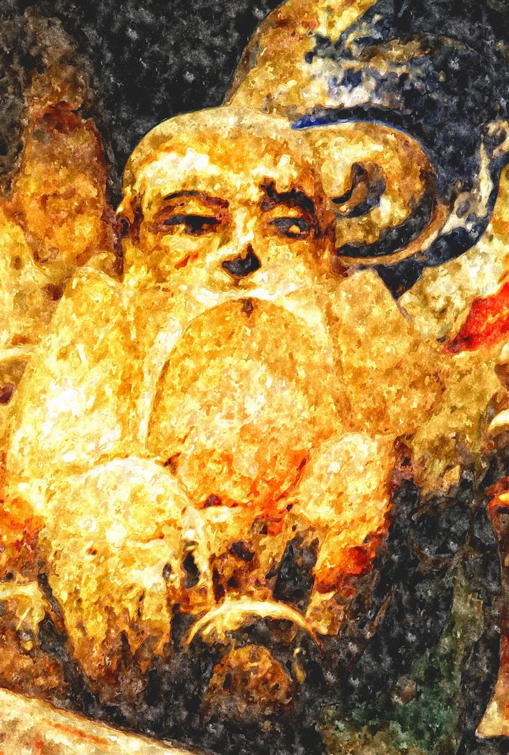 Buddhism rock carvings dazu chongqing china by davidmcb on