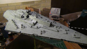 BELLATOR CLASS STAR DESTROYER COMPLETED 8