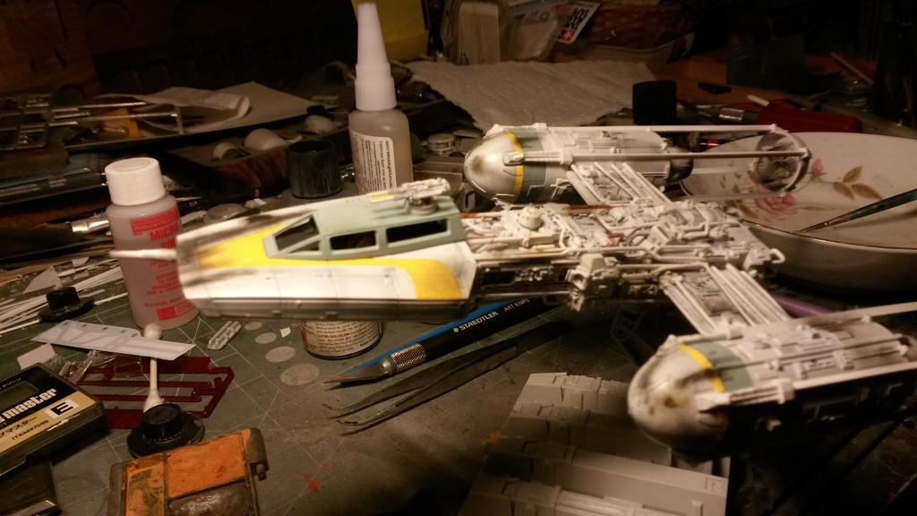 1/72 scale Y-wing 4 by THE-WHITE-TIGER