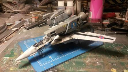 VF-1S Strike Valkyrie by THE-WHITE-TIGER