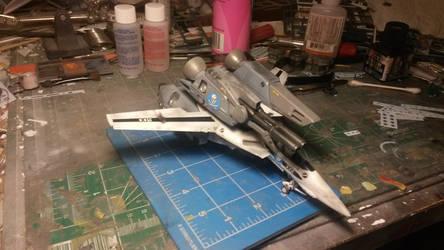 VF-1S Strike Valkyrie 2 by THE-WHITE-TIGER