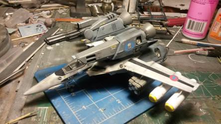 VF-1S Strike Valkyrie 3 by THE-WHITE-TIGER