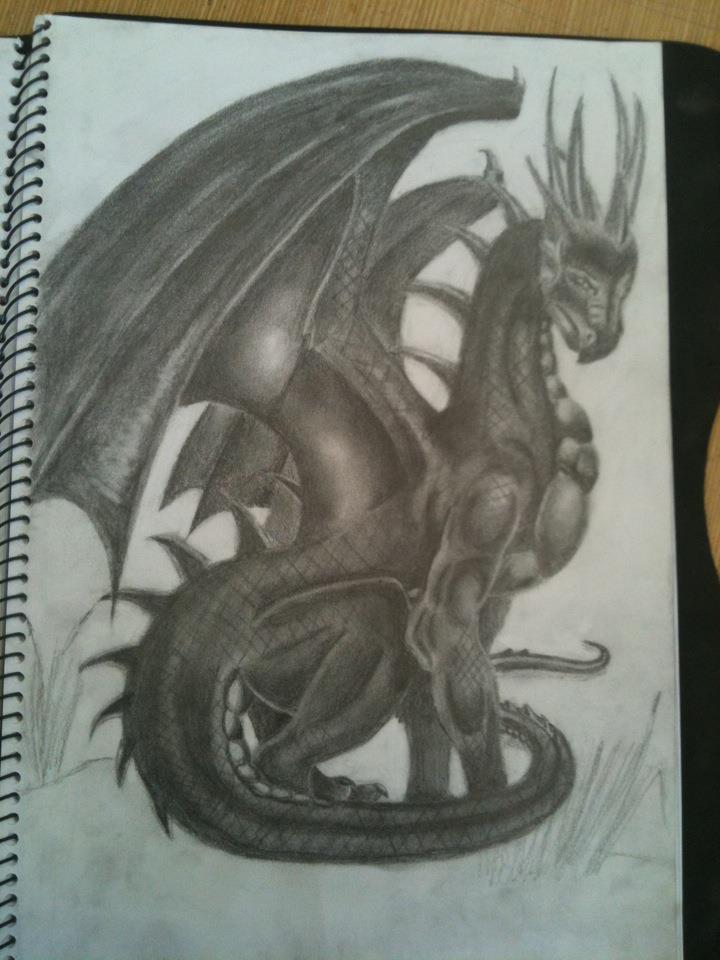 Dragon by Vamptonite
