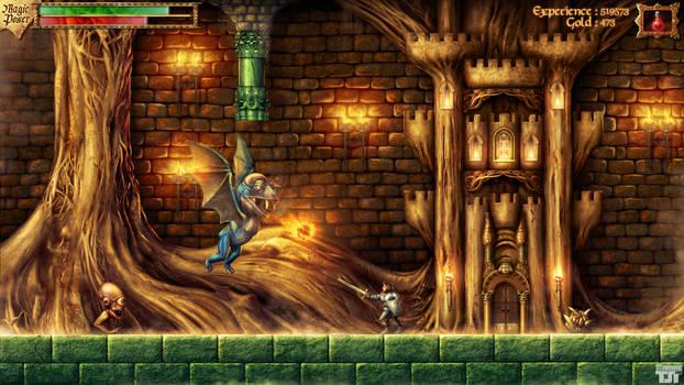 Faxanadu - Tower of Trunk Entrance - Photoshop Spe