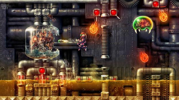Super Metroid - Depths of Tourian