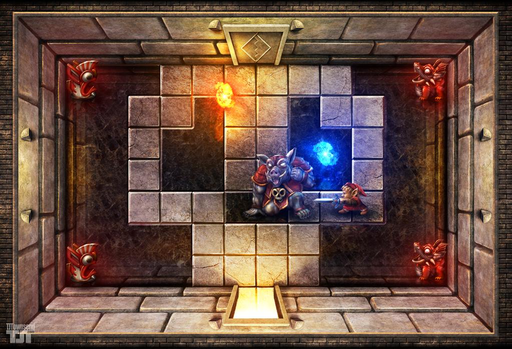 The Legend of Zelda - Link Fights Ganon by Elemental79
