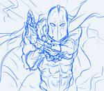 Dr.Fate daily sketch challenge
