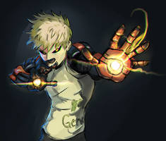 Genos Daily sketch challenge by Vimes-DA