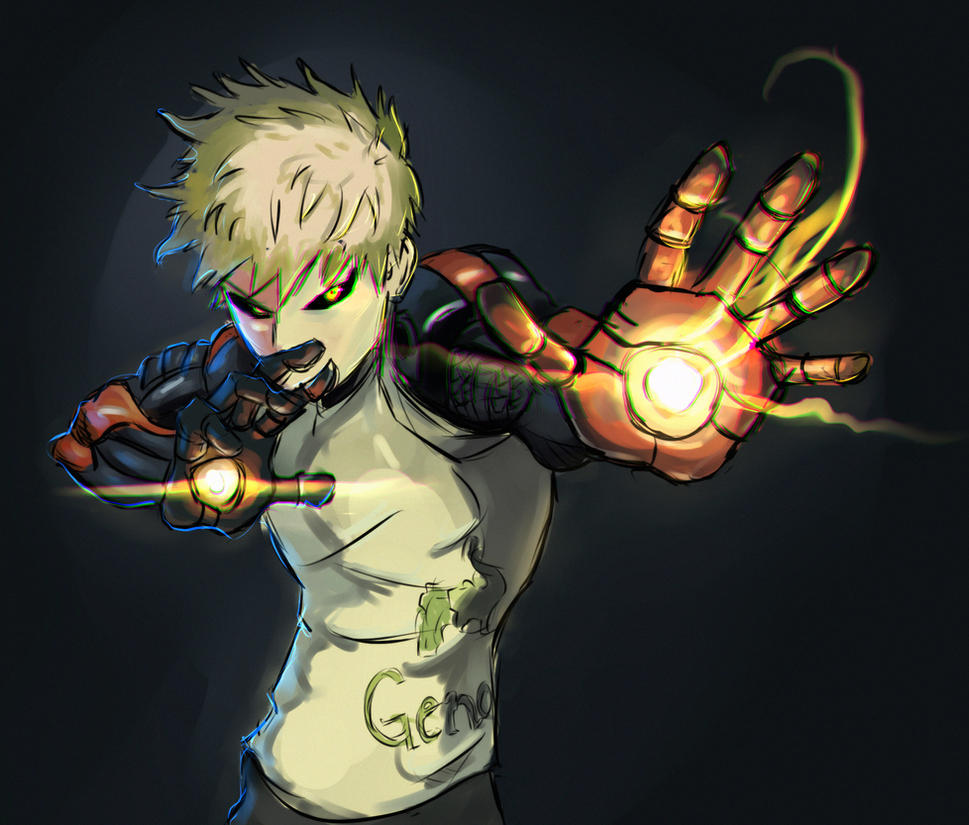Simple Wallpaper Android One Punch Man - genos_daily_sketch_challenge_by_vimes_da-d6j38bk  Pic_64236      .jpg