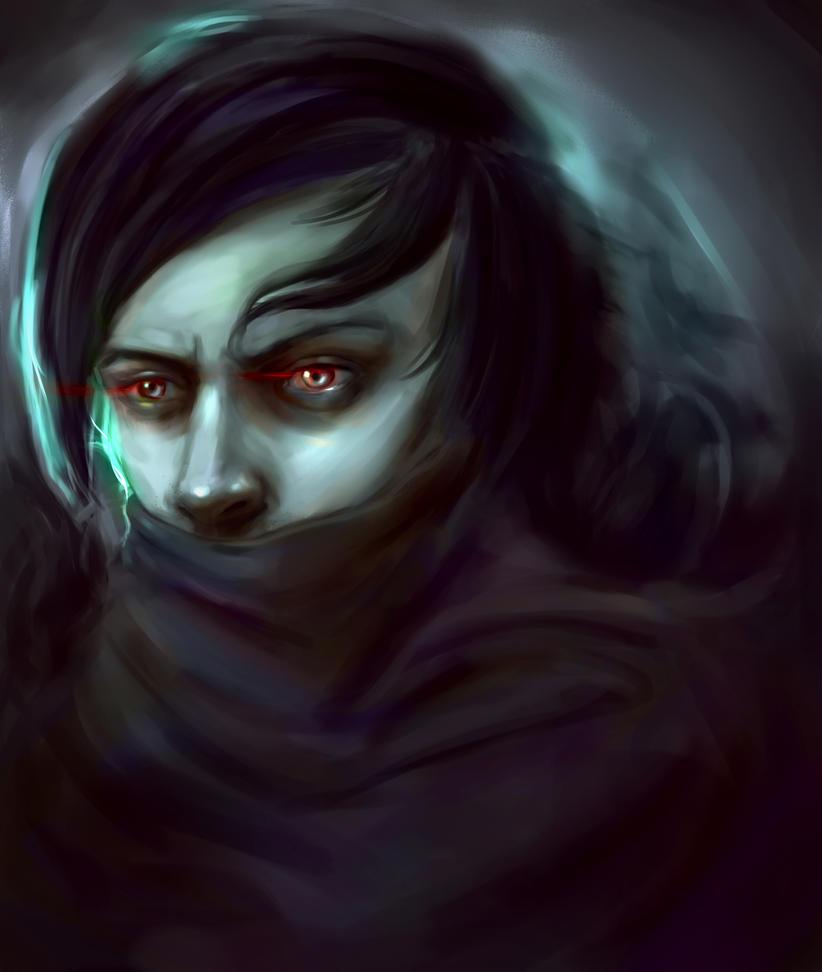 Vampire sketch Quick  Colour by Vimes-DA