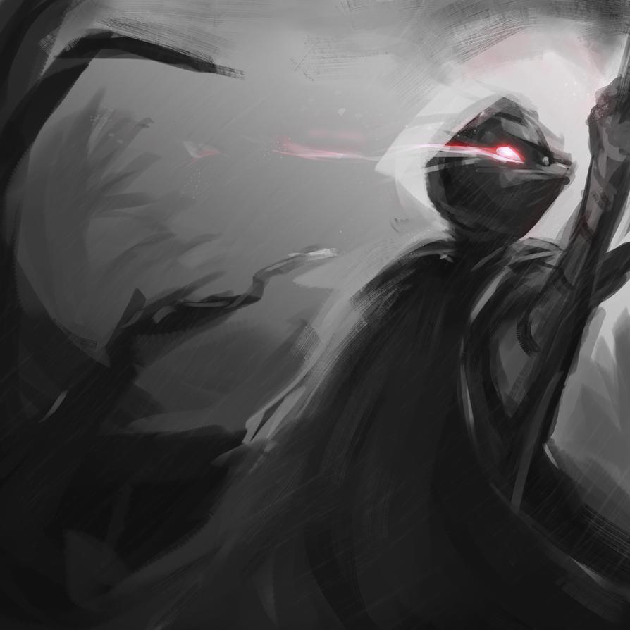 Dark souls doodle idea by Vimes-DA