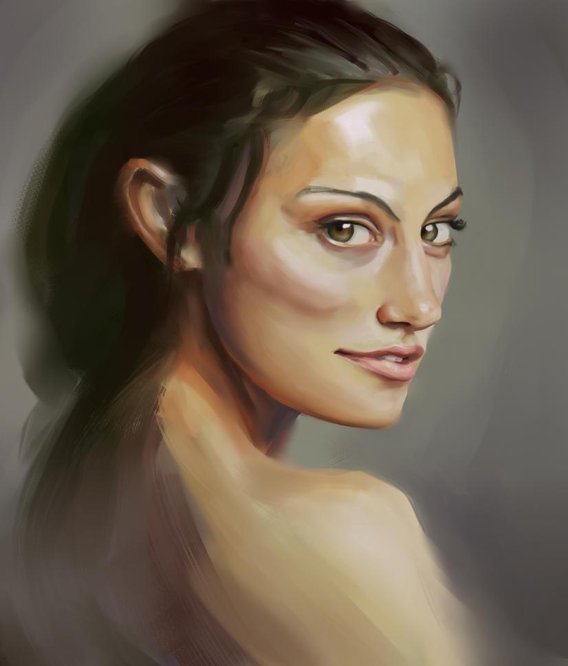 Phoebe Tonkin portrait by Vimes-DA