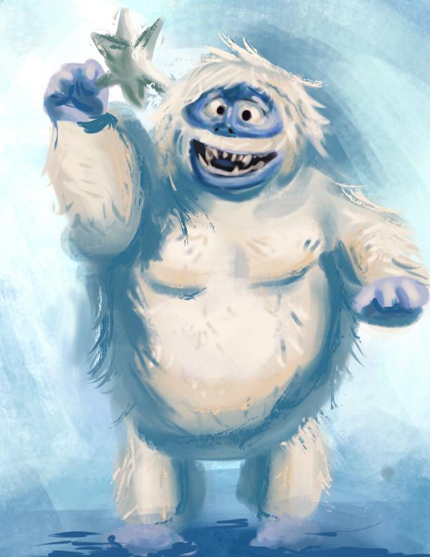 Abominable Snowmonster  dsc by Vimes-DA