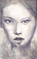 Watercolour portrait study 60215 by Vimes-DA