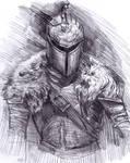 Dark souls armour sketch