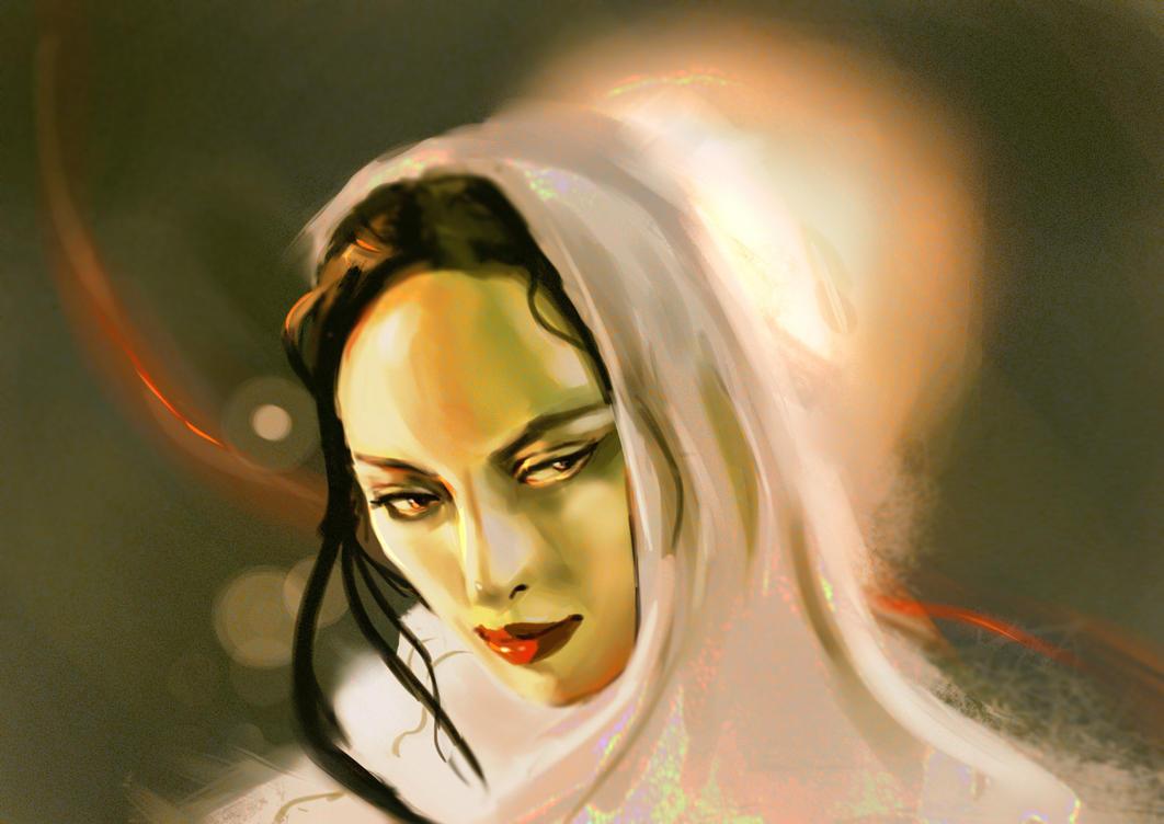 Poison witch speedpaint by Vimes-DA
