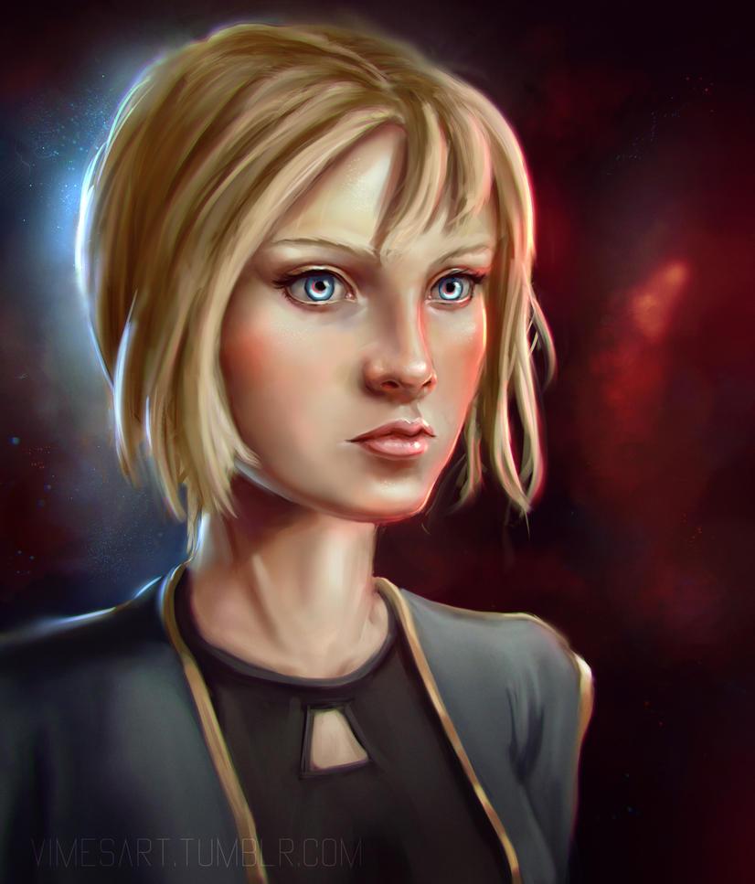 Space Girl by Vimes-DA