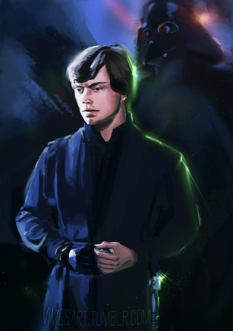 Luke skywalker speedpaint by Vimes-DA
