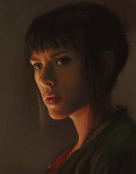 Ghost In The Shell Portrait