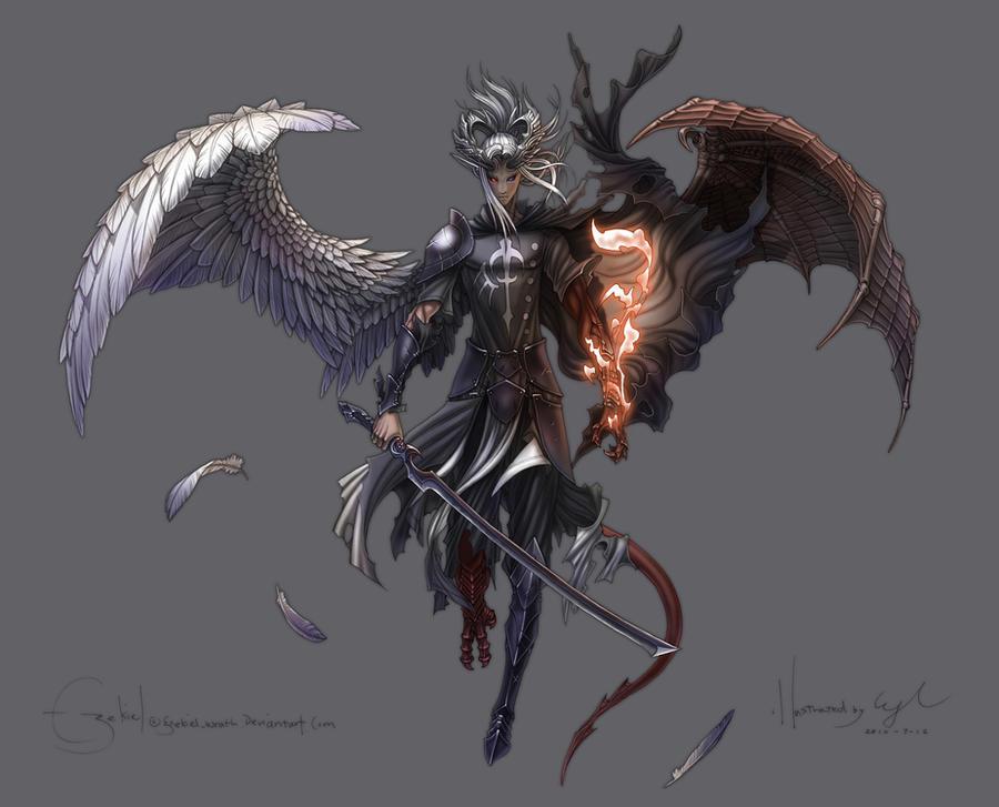 Ezekiel Final by Wen-M by ezekielwrath
