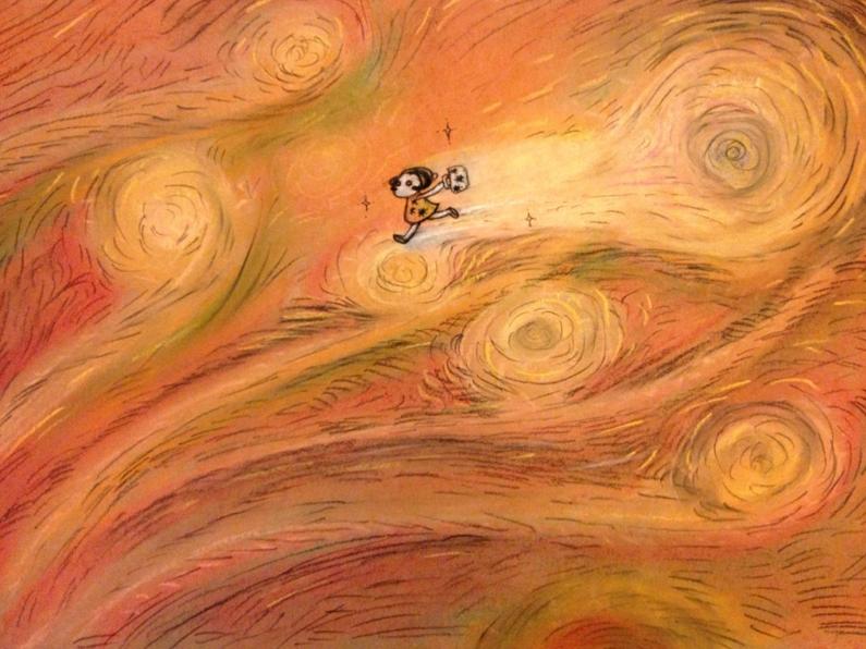 Bibi met Van Gogh by ceeceelee