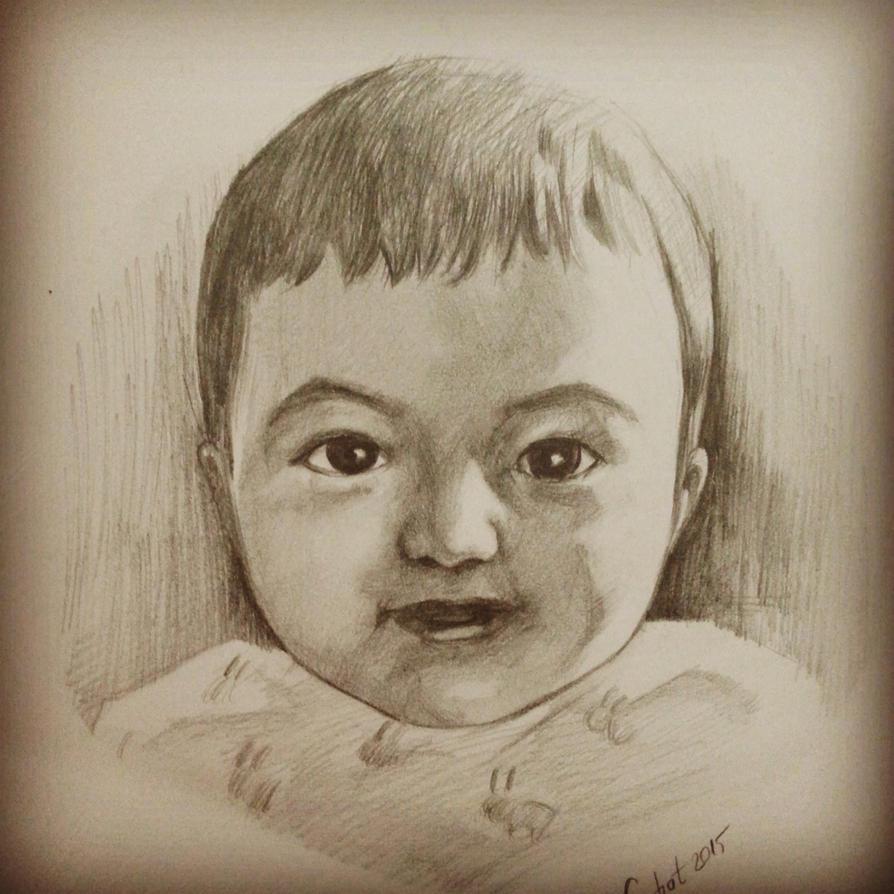 portre ( ferhat kok ) bebis-2feratart on deviantart
